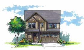 Traditional House Plan 44503 Elevation