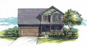 Country Southern Traditional House Plan 44515 Elevation
