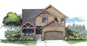 Craftsman Traditional House Plan 44613 Elevation