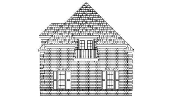 Garage Plan 44907 Elevation