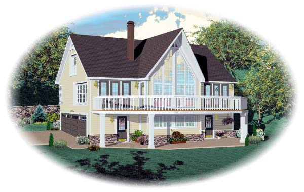 Country House Plan 44919 Elevation