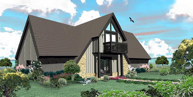 Traditional House Plan 44932 Elevation