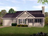 Plan Number 45105 - 1227 Square Feet