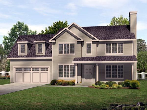 Traditional House Plan 45111 Elevation