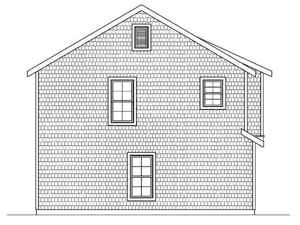 3 Car Garage Apartment Plan 45113 with 2 Beds, 1 Baths Picture 1