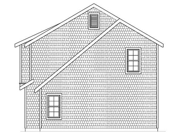 3 Car Garage Apartment Plan 45113 with 2 Beds, 1 Baths Picture 2