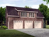 Plan Number 45114 - 741 Square Feet