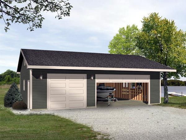 Garage Plan 45115 Elevation