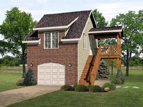 Garage Plan 45117