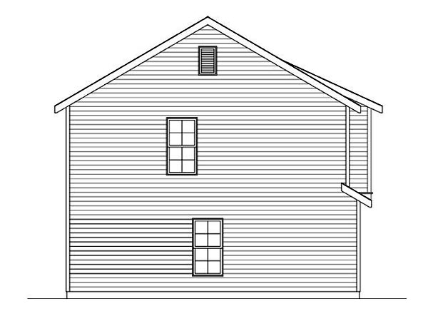 3 Car Garage Apartment Plan 45120 with 2 Beds, 1 Baths Picture 1