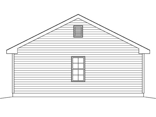 2 Car Garage Plan 45124 Picture 1