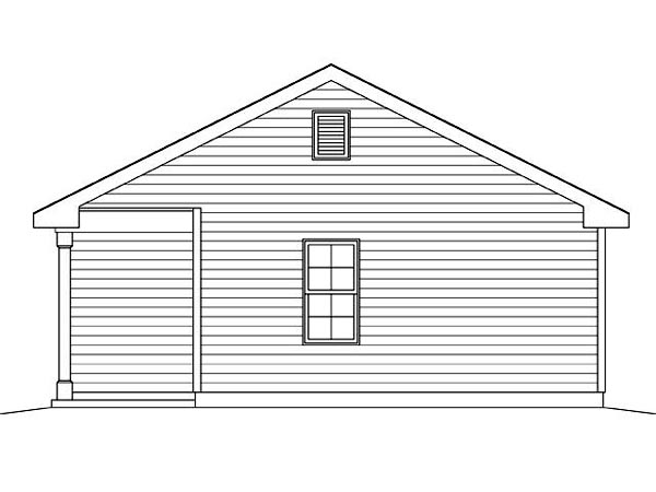 2 Car Garage Plan 45124 Picture 2