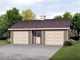Garage Plan 45125 Elevation