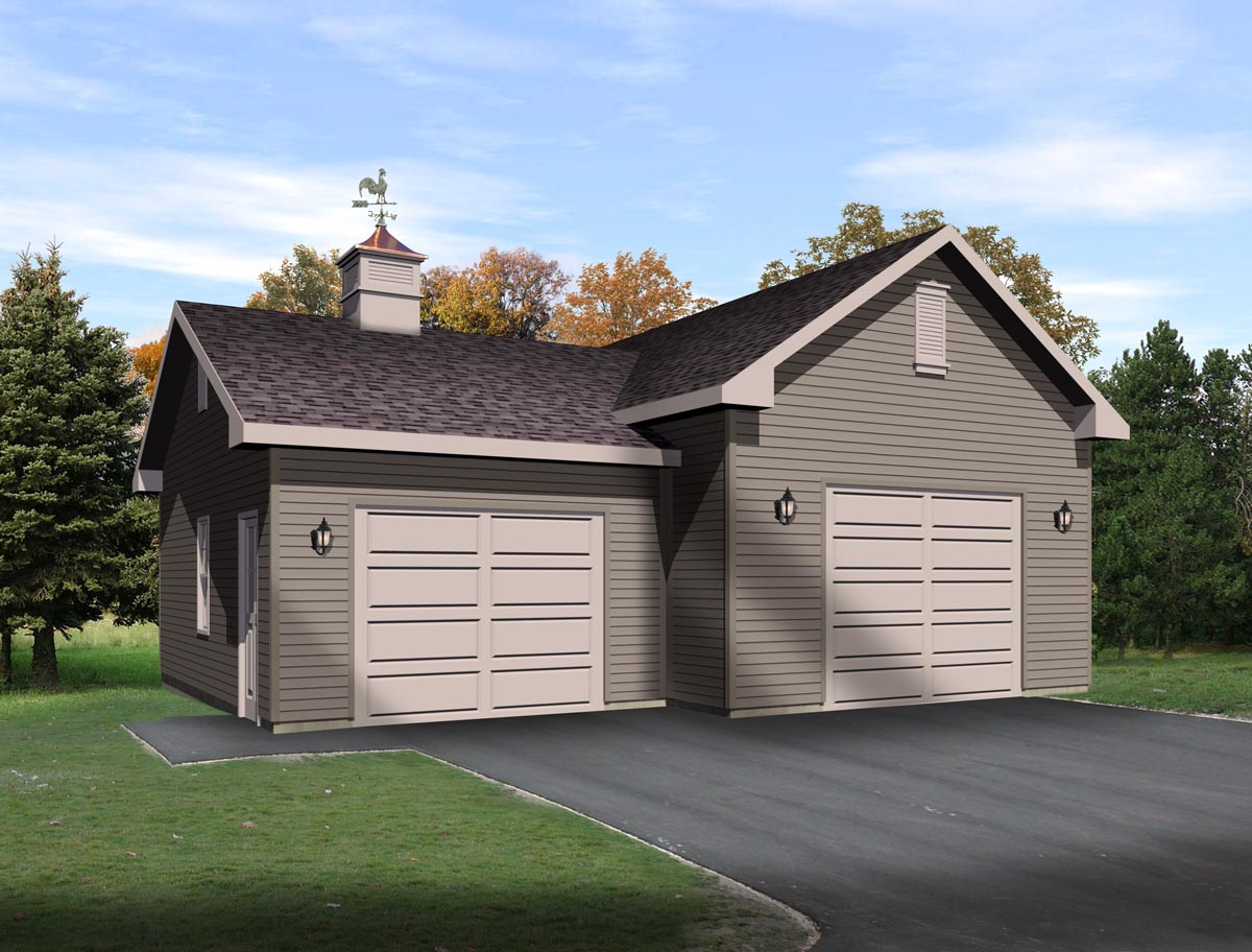 2 car garage plans with lift home desain 2018 for Family homeplans com