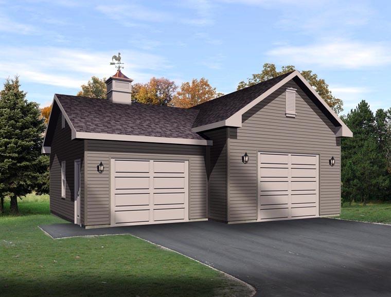Garage Plan 45130