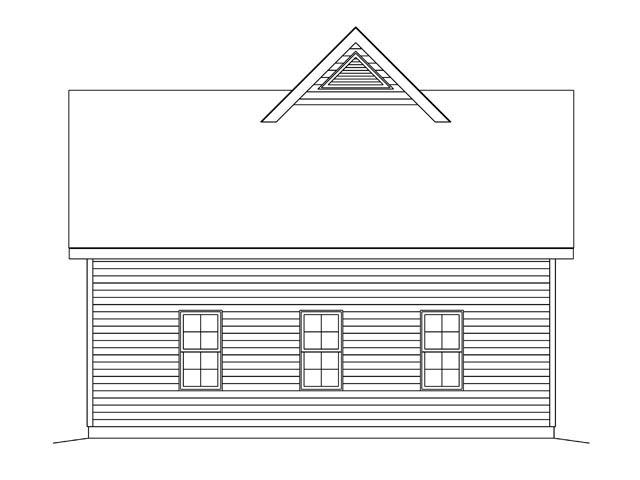 2 Car Garage Plan 45140 Picture 2