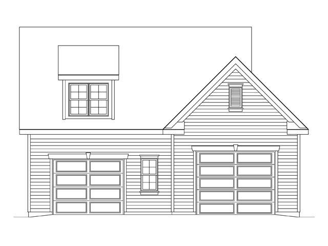 2 Car Garage Plan 45140 Picture 3