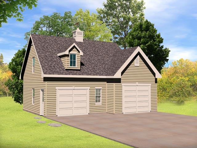 Garage Plan 45141 Elevation