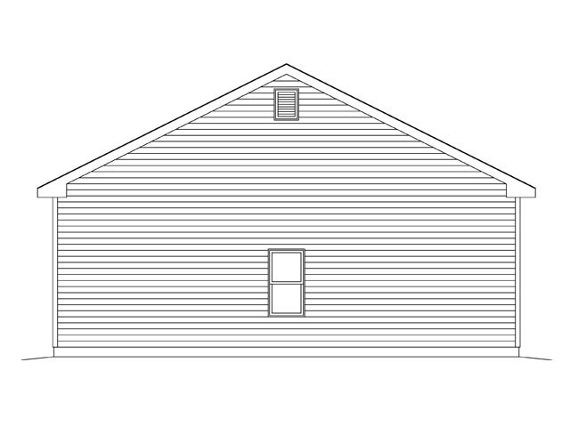 2 Car Garage Plan 45142 Picture 1
