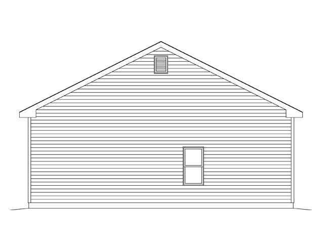 2 Car Garage Plan 45142 Picture 2
