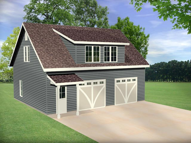 Garage Plan 45145 Elevation