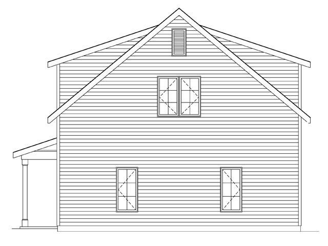 2 Car Garage Plan 45145 Picture 2