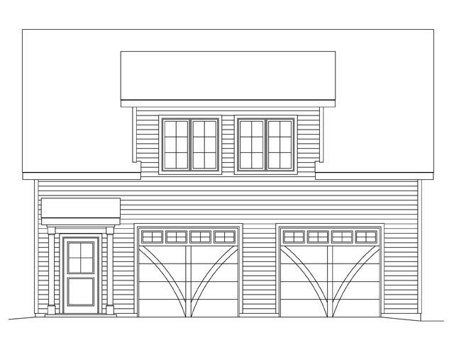 2 Car Garage Plan 45145 Picture 3