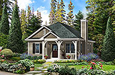 Plan Number 45154 - 1061 Square Feet