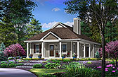 Plan Number 45155 - 1158 Square Feet