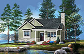 Plan Number 45157 - 1191 Square Feet
