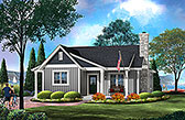 Plan Number 45160 - 1185 Square Feet