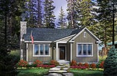 Plan Number 45161 - 1179 Square Feet