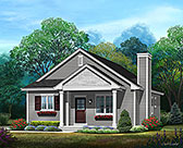 Plan Number 45177 - 1181 Square Feet
