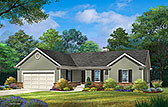 Plan Number 45178 - 1684 Square Feet