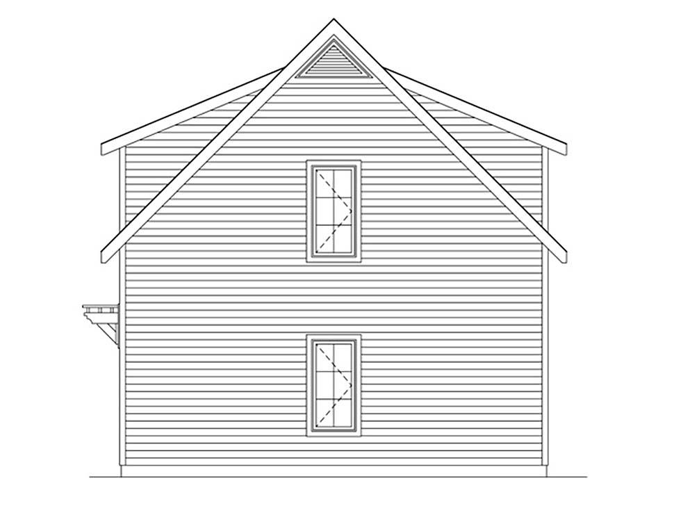 2 Car Garage Plan 45182 Picture 1