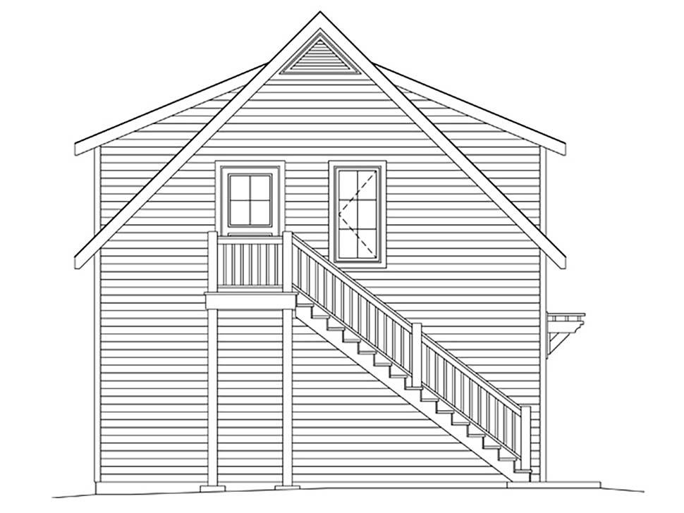 2 Car Garage Plan 45182 Picture 2