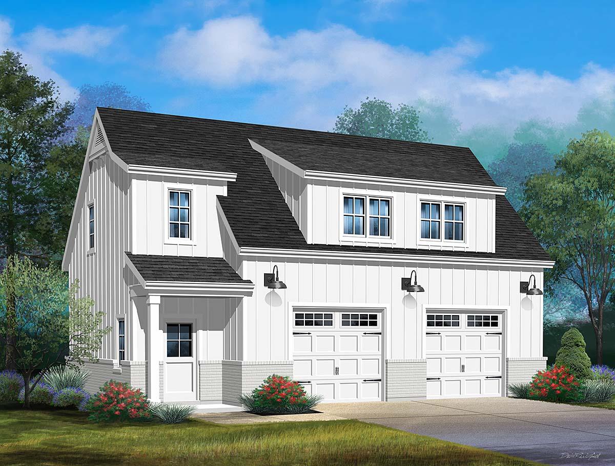 Garage Plan 45193