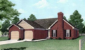 Plan Number 45201 - 1607 Square Feet