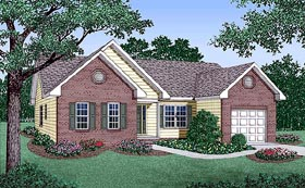 Traditional House Plan 45209 Elevation