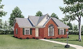Traditional House Plan 45230 Elevation