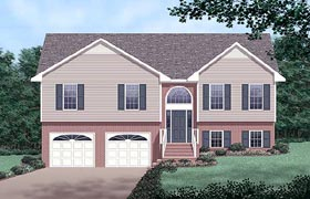Traditional House Plan 45253 Elevation