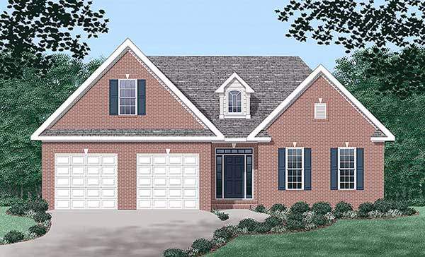 Traditional House Plan 45254 Elevation