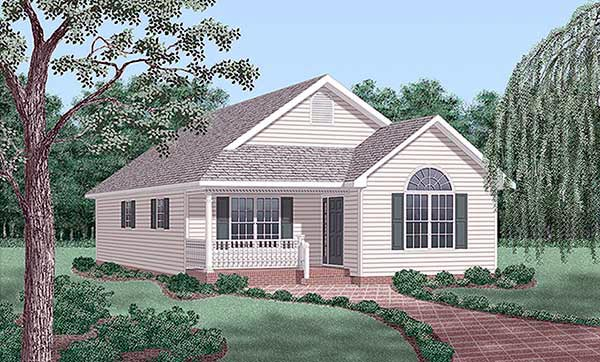 Traditional House Plan 45262 Elevation