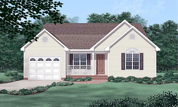 Traditional House Plan 45264 Elevation
