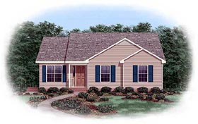 Traditional House Plan 45268 Elevation