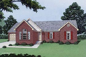 Traditional House Plan 45274 Elevation
