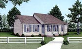 Plan Number 45305 - 1152 Square Feet