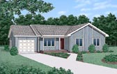 Plan Number 45307 - 1104 Square Feet