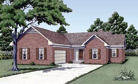 Traditional House Plan 45311 Elevation