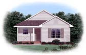 Plan Number 45312 - 1074 Square Feet